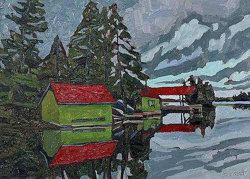 Phil Chadwick - Red Roofs Canoe Lake