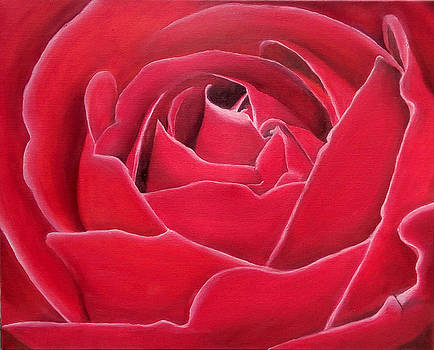 Red Rose by Maryna Moolman