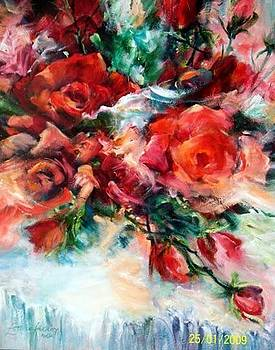 Red Roses for a Blue Lady.. by Estelle Hartley