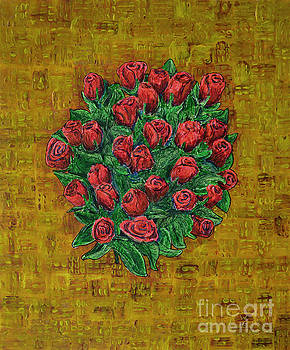 Red Roses by Richard Wandell