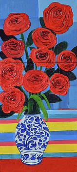Red Roses by Stephen Humphries
