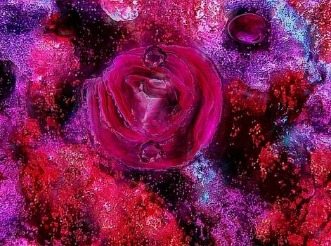 Red rosy love by Yari Art