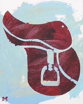 Red Saddle by Candace Shrope