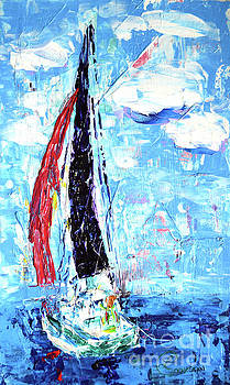 Red Sail by Lynda Cookson