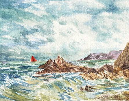 Irina Sztukowski - Red Sails At The Shore