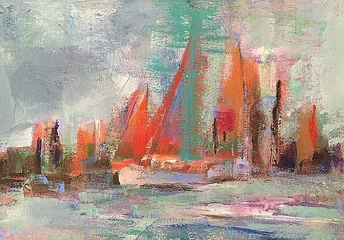 Red Sails by Molly Wright