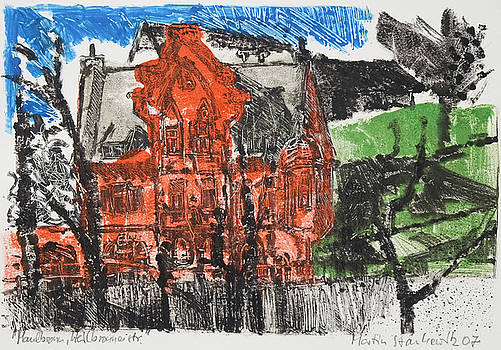 Martin Stankewitz - red sandstone house,Maulbronn