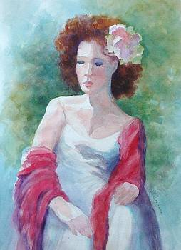 Marilyn Jacobson - Red Shawl