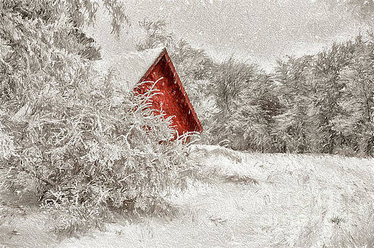 Lois Bryan - Red Shed In The Snow