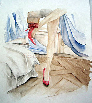 Red Shoe Morning by Bonnie Rose Parent