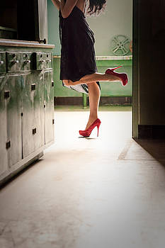 Red Shoes Seduction by Diane Dugas