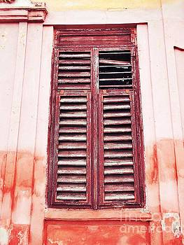 Red Shutters by Erika H