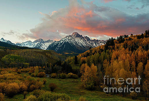 Red Skies over the Sneffels by Mike Dawson