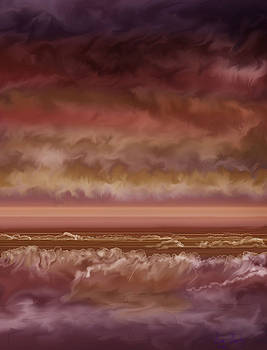 Red Sky at Night Sailor Delight by Anne Norskog