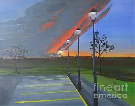 Red Sky by Edward Maldonado