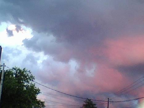Red sky by Sandra Winiasz