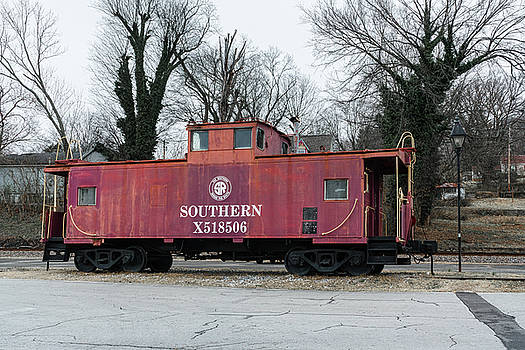 Sharon Popek - Red Southern Caboose
