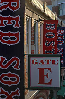 Juergen Roth - Red Sox Banners at Gate E