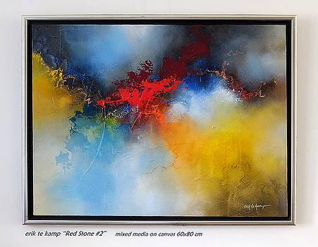 Red Stone 2 by Erik Te Kamp