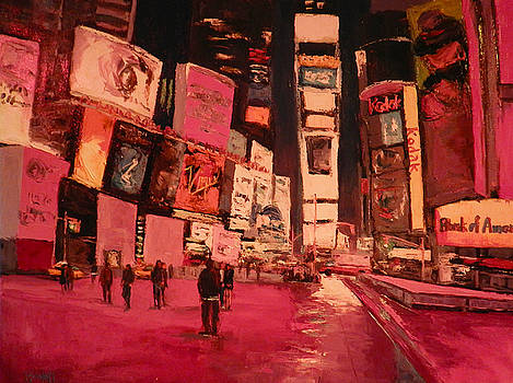 Red Streets by Kathleen Strukoff