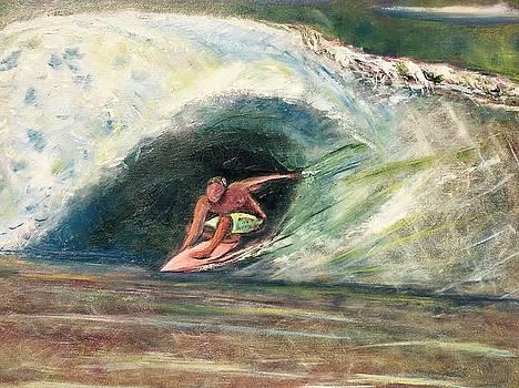 Red Surf by John Latterner