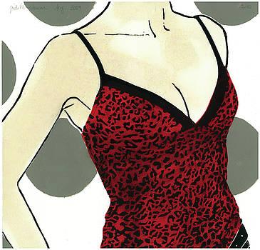 Red Tango V by Judith Sturm