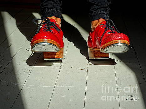 Red Tap Shoes by Lainie Wrightson
