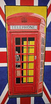 Red Telephone Booth by Robert Nickels
