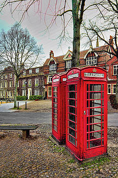 Red Telephone Boxes by Martin Fry