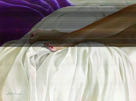 Red Toenails by Linda Tenukas