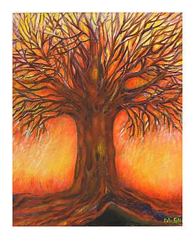 Red tree by Rita Fetisov