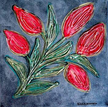 Gina Nicolae Johnson - Red tulips