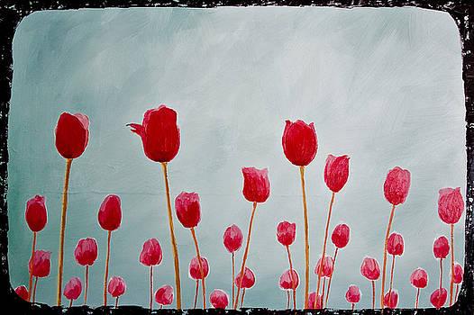 Red Tulips by Jesska Hoff