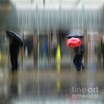 Red Umbrella by LemonArt Photography