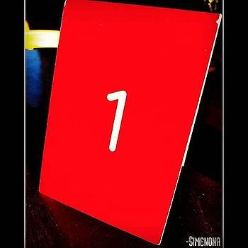 Red Uno by Simenona Martinez