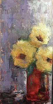 Red Vase by Debbie Frame Weibler