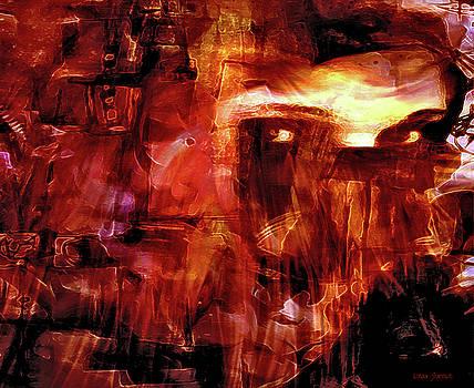 Red Veil by Linda Sannuti