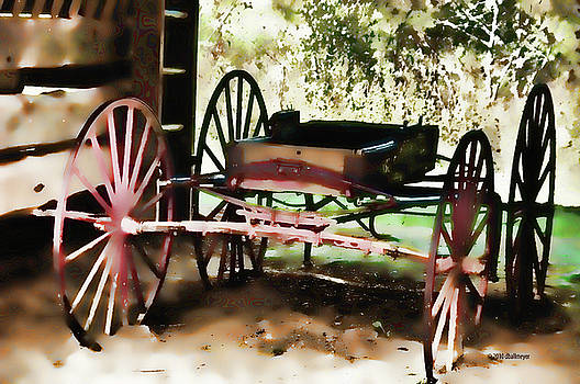 Red Wagon by Deborah