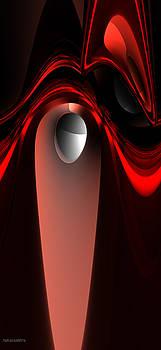 Red Wave 2 by Marisa Gabetta