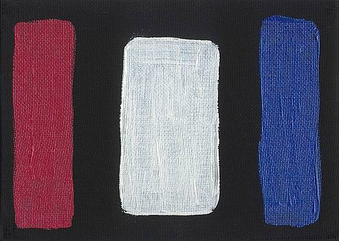 Red White and Blue Divided by Phil Strang