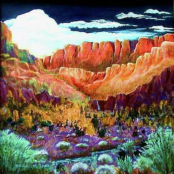 Red Willow Canyon by Diana Dearen