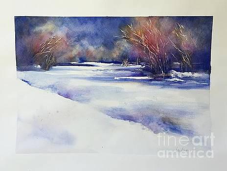 Red Willows by Karen Lindeman