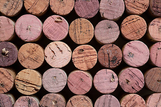 Red Wine Corks 135 by Frank Tschakert