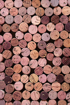 Red Wine Corks 169 by Frank Tschakert