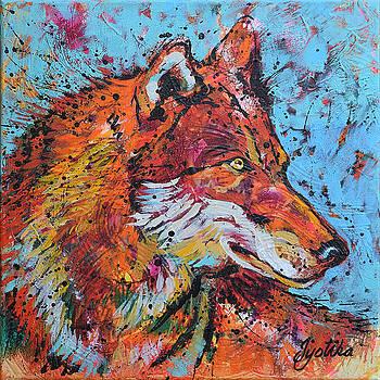 Red Wolf  by Jyotika Shroff