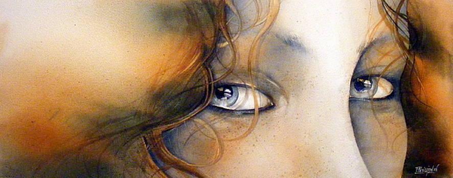 Redhead Girl by Fabien Petillion