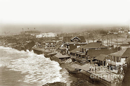 California Views Mr Pat Hathaway Archives - Redondo Beach damaged by Winter Storm. January 31, 1915