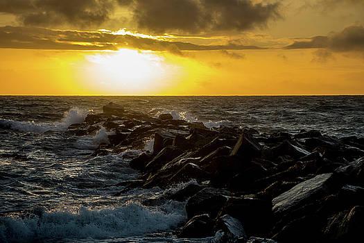 Redondo Beach Sunset 2 by Ed Clark
