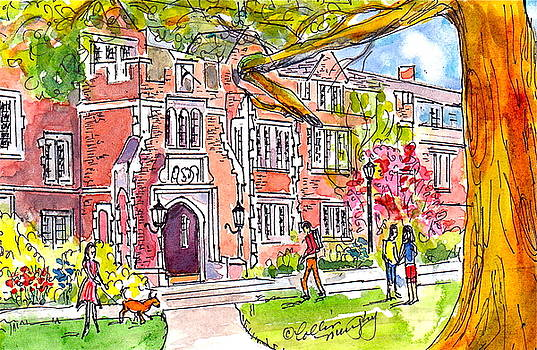 Reed College Campus by Collin Murphy