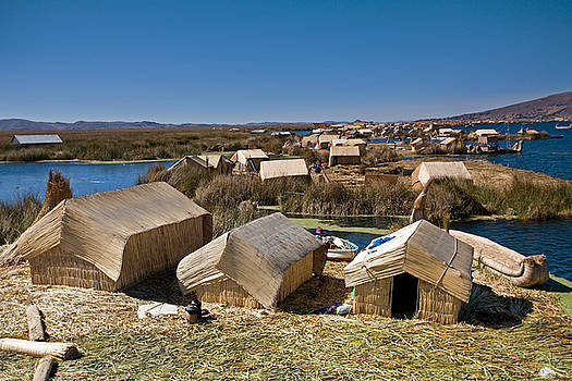 Aivar Mikko - Reed Houses at Uros Islands